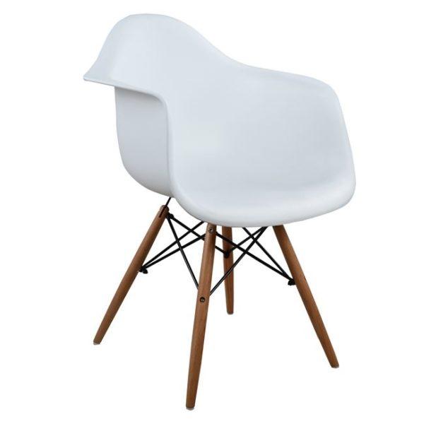 бяло-модерно-кресло-дървени-крака