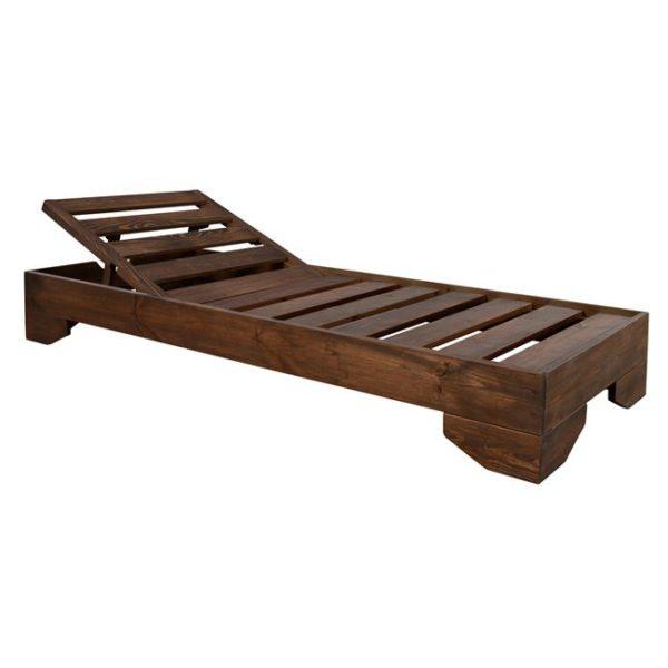 дървеендървеен-шезлонг-легло-шезлонг-легло