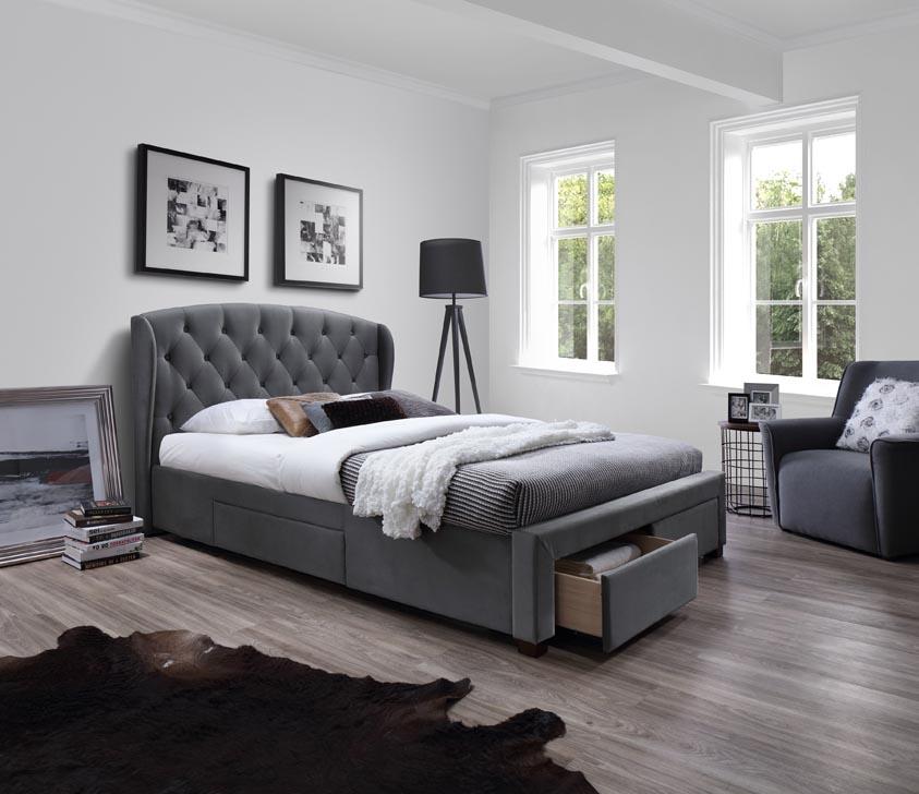 eee99343e44 Тапицирана спалня Sabrina 160 на супер цена от stolche.info