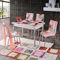 Трапезен комплект маса и столове Dilara I