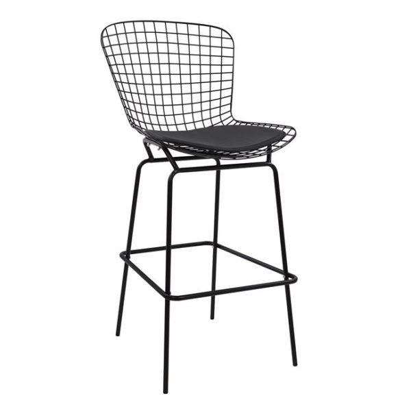 метален бар стол
