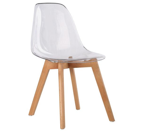 модерен прозрачен стол