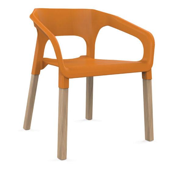 полипропиленово кресло портокал