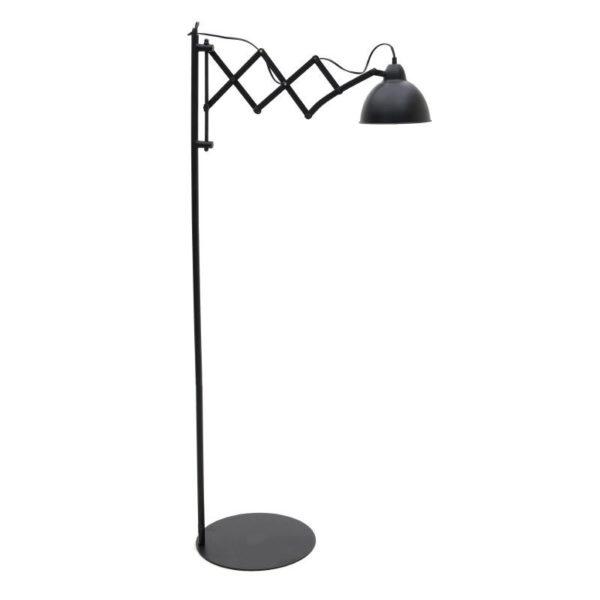 метален модерен лампион за под