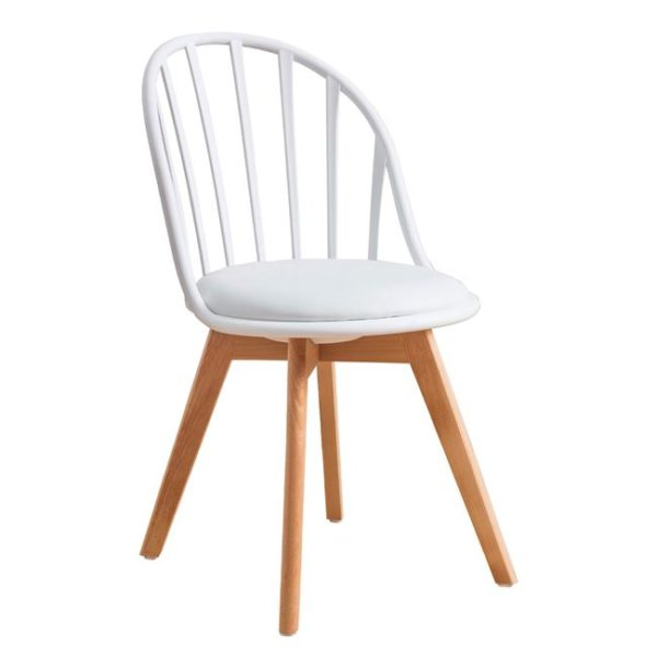 бял модерен стол