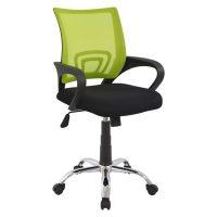 зелен офис стол