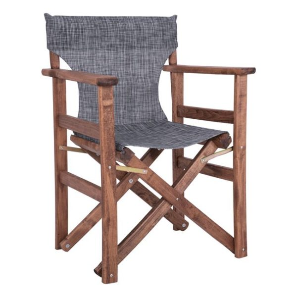 сив режисьорски стол