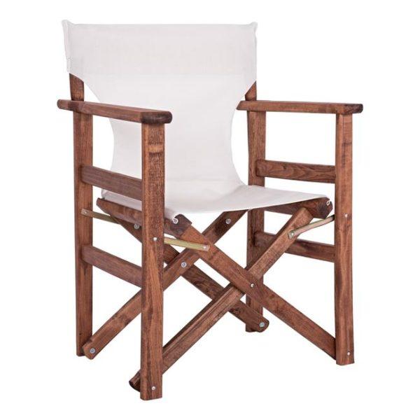 бял режисьорски стол