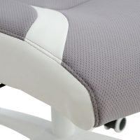 сив мениджърски стол