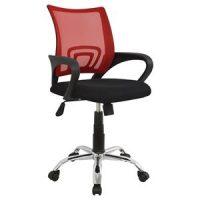 червен офис стол