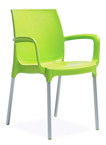 зелен-пвц-стол