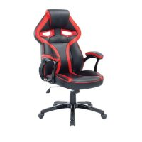 червено черно офис кресло