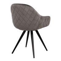 Трапезно-кресло-черно