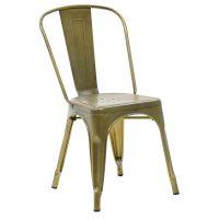 Метален-стол-zlato