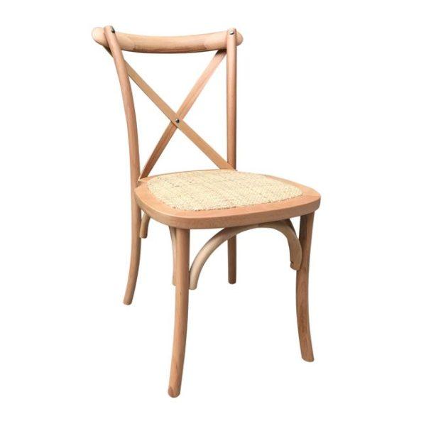 виенски стол-дърво-натурал