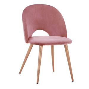 трапезен-стол-розов пепел