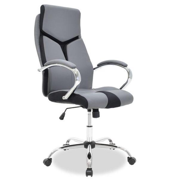 menidjyrski-ofis-stol-siv