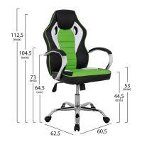 Zelen-ofis-stol