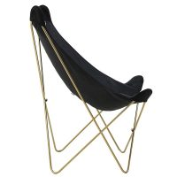 stol-BUTTERFL-black-gold-1
