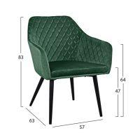 trapezno-kreslo-CHARLES -zelen-1