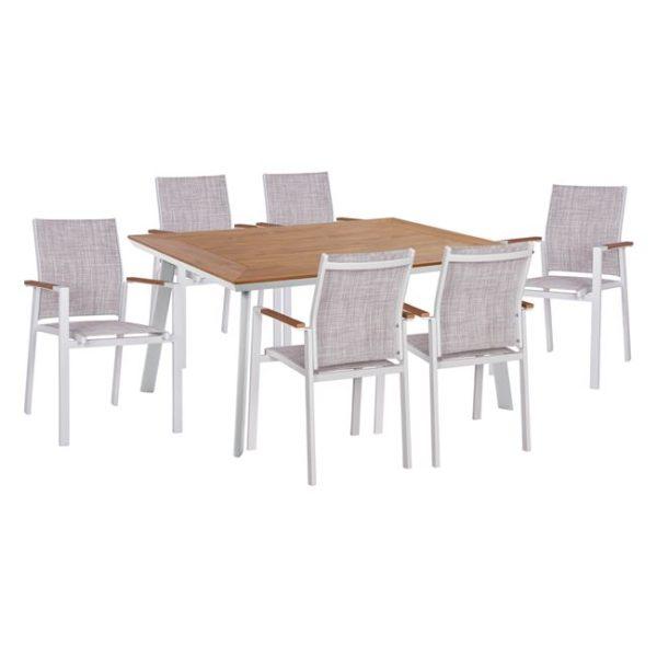 set-Dining-7-pcs-white
