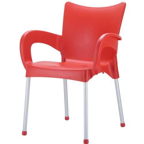 Стол-Ромео-червен