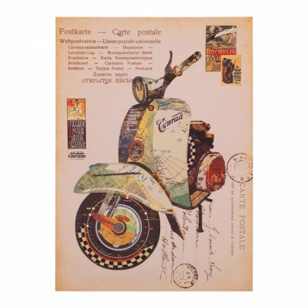 canvas-Motorbike