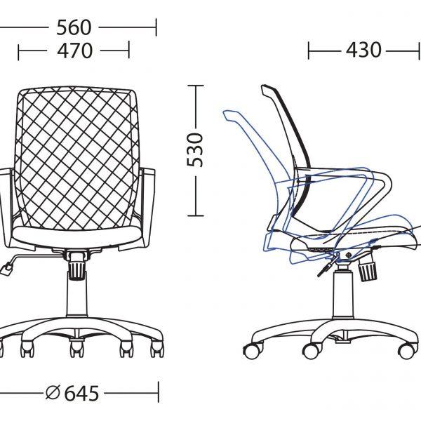stol-FLY_butterfly_purple-seat-7299